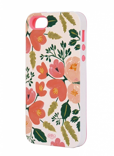 Rifle Paper Co. Botanical Rose iPhone 5/5S Kılıf Renkli